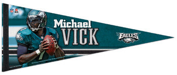 "Michael Vick ""Superstar"" Philadelphia Eagles Premium Felt Collector's Pennant - Wincraft"