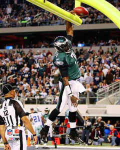 "Michael Vick ""Touchdown Slam"" (2010) Philadelphia Eagles Premium Poster - Photofile 16x20"