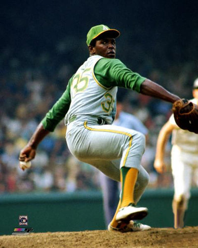 "Vida Blue ""Ace"" Oakland A's (1971) Premium Poster Print - Photofile Inc."