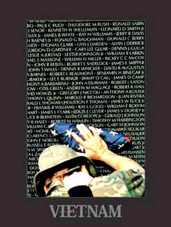 """Vietnam Memory Wall"" - New York Graphic Society 1998"