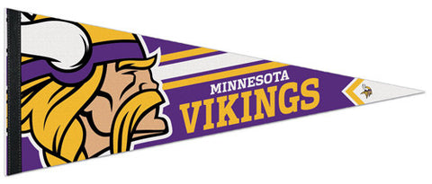 Minnesota Vikings Official NFL Premium Felt Collector's Pennant - Wincraft