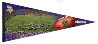 "Minnesota Vikings ""Gameday"" EXTRA-LARGE Premium Felt Pennant"