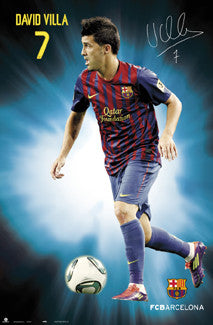 "David Villa ""Signature Series"" (Barcelona 2011/12) - G.E. (Spain)"