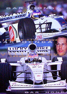 "Jacques Villeneuve ""Bar Honda 2000"" - U.K."