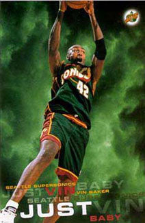 "Vin Baker ""Just Vin Baby"" - Costacos 1997"
