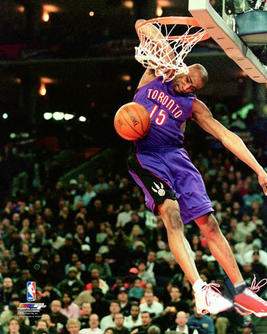 "Vince Carter ""Elbow Slam"" Toronto Raptors 2000 All-Star Dunk Contest Premium Poster - Photofile Inc."