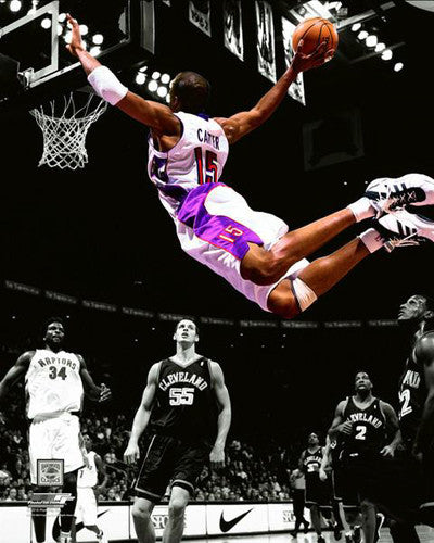 "Vince Carter ""Soar"" Toronto Raptors c.2001 Spotlight Edition Premium Poster - Photofile Inc."