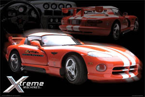 Dodge Viper RT/10 Pace Car - Aquarius Posters