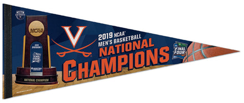 University of Virginia Cavaliers 2019 NCAA Men's Basketball CHAMPIONS Official Premium Felt Pennant - Wincraft Inc.