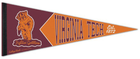 Virginia Tech Hokies NCAA College Vault 1930s-Style Premium Felt Collector's Pennant - Wincraft Inc.
