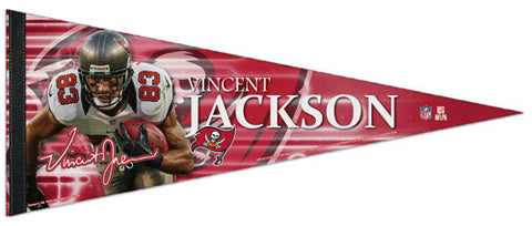 "Vincent Jackson ""Signature"" Tampa Bay Bucs Premium Felt Collector's Pennant - Wincraft 2013"