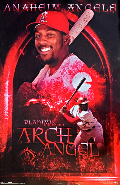 "Vladimir Guerrero ""Arch Angel"" Los Angeles Angels MLB Baseball Poster - Costacos 2004"