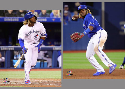 "Vladimir Guerrero Jr. ""Big-Time"" Toronto Blue Jays 2-Poster Combo Set - Photofile 16x20"