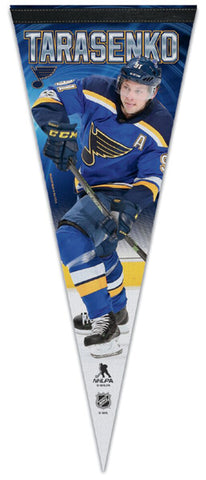 Vladimir Tarasenko St. Louis Blues Official NHL Hockey Premium Felt Collector's Pennant - Wincraft 2018