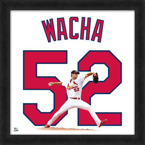 "Michael Wacha ""Number 52"" St. Louis Cardinals FRAMED 20x20 UNIFRAME PRINT - Photofile"