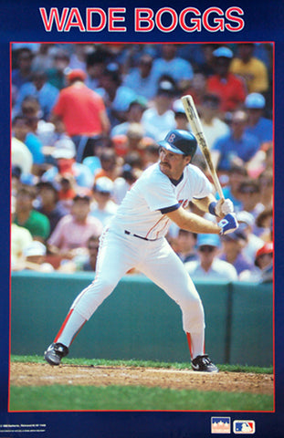 Wade Boggs Classic Boston Red Sox MLB Action Poster - Starline Inc. 1988