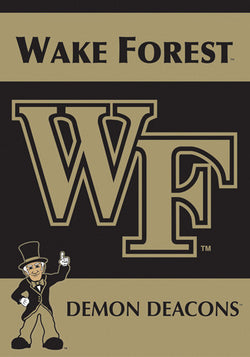 Wake Forest University Demon Deacons Premium 2-Sided Team Banner - BSI Products