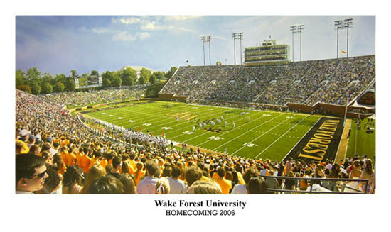 "Wake Forest Football ""Homecoming"" - Sofa Galleria 2006"
