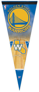 Golden State Warriors Premium Felt Pennant - Wincraft 2010