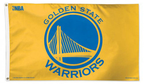 Golden State Warriors Official NBA Basketball 3'x5' DELUXE Team Banner FLAG - Wincraft