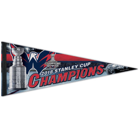 Washington Capitals 2018 NHL Stanley Cup Champions Premium Felt Pennant - Wincraft Inc.