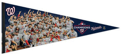 Washington Nationals 2019 World Series CELEBRATION Premium 17x40 XL Felt Pennant - Wincraft