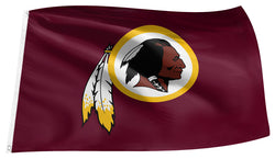 Washington Redskins NFL Football 3'x5' Official Team Logo Banner 3'x5' FLAG - The Sports Vault