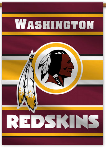 Washington Redskins Official NFL Football Team Premium 28x40 Banner Flag - BSI Products