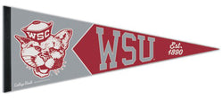 Washington State Cougars NCAA College Vault 1940s-Style Premium Felt Collector's Pennant - Wincraft Inc.