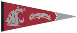 Washington State University Cougars Official NCAA Sports Team Logo Premium Felt Pennant - Wincraft Inc.