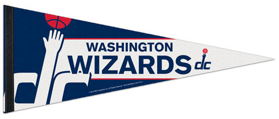 Washington Wizards Official NBA Basketball Premium Felt Collector's Pennant - Wincraft Inc.