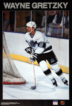 "Wayne Gretzky ""L.A. Classic"" Los Angeles Kings Poster - Starline Inc. 1989"