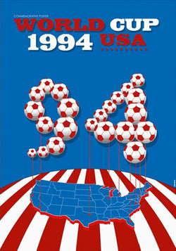 FIFA World Cup 1994 USA Event Poster Official Reprint (#0968)