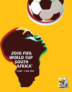 World Cup 2010 South Africa Official Event Poster (FIFA Original)