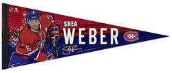 "Shea Weber ""Signature Series"" Montreal Canadiens Premium Felt Collector's PENNANT - Wincraft 2016"