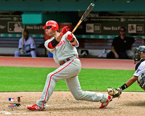 "Jayson Werth ""Blast"" (2009) Philadelphia Phillies Premium Poster Print - Photofile 16x20"