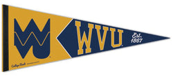 West Virginia Mountaineers NCAA College Vault 1960s-Style Premium Felt Collector's Pennant - Wincraft Inc.