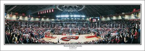"Western Kentucky Basketball (EA Diddle Arena) Panoramic Poster (13.5"" x 39"" Edition) - Everlasting Images"