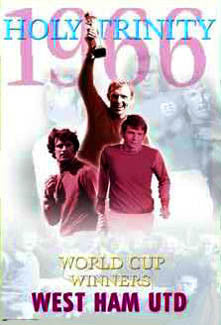 "West Ham United ""Holy Trinity 1966"" Poster - U.K. 2004"