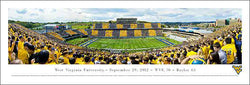 "West Virginia Football ""Stripe Day"" 9/29/2012 Panoramic Poster Print - Blakeway Worldwide"