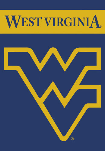 West Virginia Mountaineers Official 28x40 NCAA Premium Team Banner - BSI Products