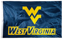 West Virginia Mountaineers Official NCAA Premium Nylon Applique 3'x5' Flag - BSI Products Inc.