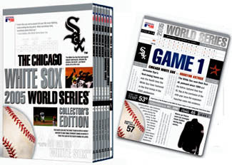 DVD: Chicago White Sox 2005 World Series 7-Disc Set