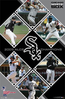 Chicago White Sox 2005 ALCS Champions Commemorative Poster - Costacos Sports 2005
