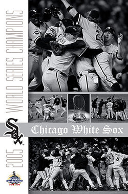 "Chicago White Sox ""Celebration 2005"" World Series Commemorative Poster - Costacos"