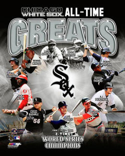 Chicago White Sox All-Time Greats (12 Legends, 3 Championships) Premium Poster Print - Photofile