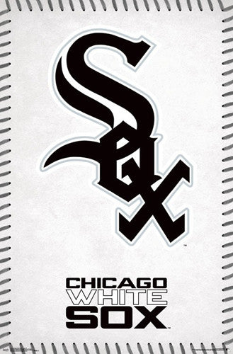 Chicago White Sox Official MLB Baseball Team Logo Poster - Trends International
