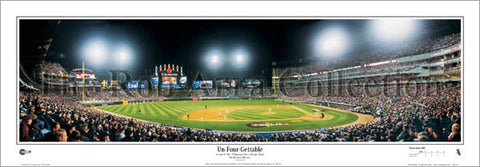 "Chicago White Sox ""Un-Four-Gettable"" 2005 World Series Champs Panoramic Poster Print - Everlasting"