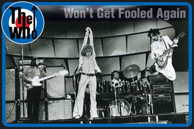 The Who - Won't Get Fooled Again Poster - Aquarius Images