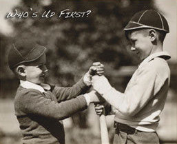 "Classic Kids Baseball ""Who's Up First?"" - Image Source Int'l"